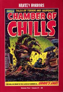 HARVEY HORRORS CHAMBER OF CHILLS SOFTIE TP VOL 05