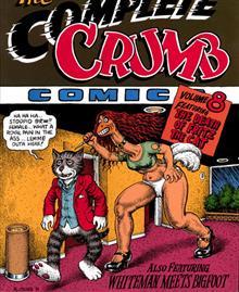 COMPLETE CRUMB COMICS TP VOL 08 DEATH FRITZ CAT