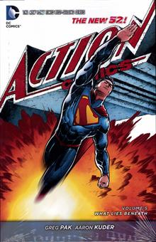 SUPERMAN ACTION COMICS HC VOL 05 WHAT LIES BENEATH (N52)