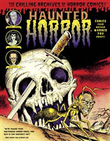 HAUNTED HORROR HC VOL 02 COMICS MOTHER WARNED ABOUT
