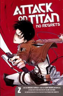 ATTACK ON TITAN NO REGRETS GN VOL 02