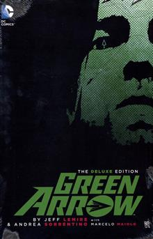 GREEN ARROW BY JEFF LEMIRE DELUXE ED HC