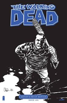 IMAGE GIANT SIZED ARTISTS PROOF ED THE WALKING DEAD #100 (MR