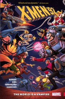 X-MEN 92 TP VOL 01 WORLD IS A VAMPIRE