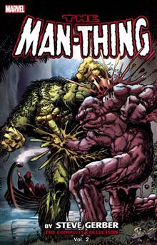 MAN THING BY STEVE GERBER COMPLETE COLL TP VOL 02