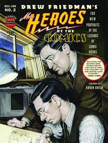 MORE HEROES OF COMICS HC PORTRAITS PIONEERING LEGENDS