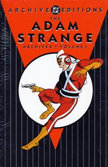ADAM STRANGE ARCHIVES VOL 1 HC