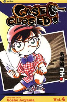 CASE CLOSED VOL 4 GN