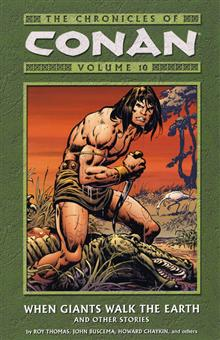 CHRONICLES OF CONAN VOL 10 GIANTS WALK THE EARTH TP