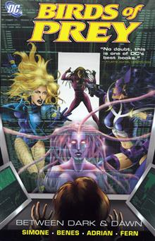 BIRDS OF PREY BETWEEN DARK AND DAWN TP