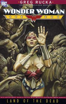 WONDER WOMAN LAND OF THE DEAD TP