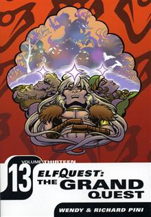 ELFQUEST THE GRAND QUEST VOL 13 TP