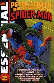 ESSENTIAL PETER PARKER SPECTACULAR SPIDER-MAN VOL 2 TP