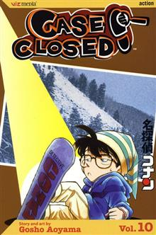 CASE CLOSED VOL 10 GN