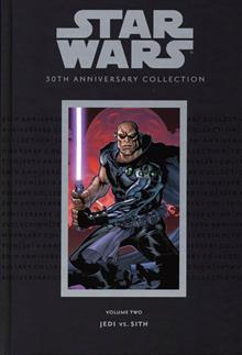STAR WARS 30TH ANNIV COLL VOL 2 HC JEDI VS SITH