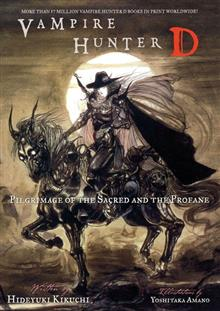 VAMPIRE HUNTER D VOL 6 PILGRIMAGE O/T SACRED & PROFANE NOVEL