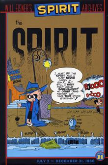 WILL EISNERS SPIRIT ARCHIVES VOL 21 HC