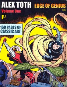 ALEX TOTH EDGE OF GENIUS VOL 1 TP