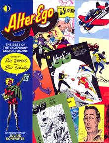 ALTER EGO BEST OF LEGENDARY COMICS FANZINE SC