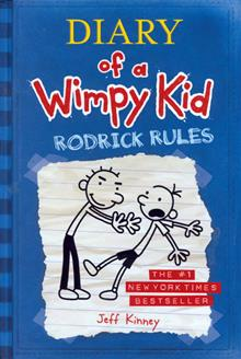 DIARY OF A WIMPY KID VOL 2 RODRICK RULES HC