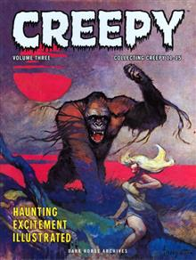 CREEPY ARCHIVES VOL 3 HC