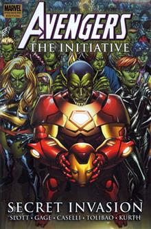 AVENGERS INITIATIVE VOL 3 SECRET INVASION PREM HC