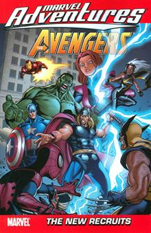 MARVEL ADVENTURES AVENGERS VOL 8 TP DIGEST
