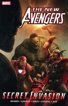 NEW AVENGERS VOL 8 SECRET INVASION BOOK 1 TP