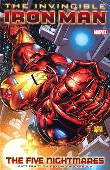INVINCIBLE IRON MAN VOL 1 FIVE NIGHTMARES TP