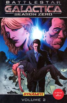NEW BATTLESTAR GALACTICA SEASON ZERO VOL 2 TP ART COVER
