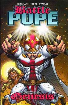 BATTLE POPE VOL 1 GENESIS TP (MR)