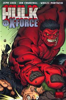 HULK VOL 4 HULK VS X-FORCE PREM HC