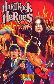ROCK N ROLL COMICS TP VOL 02 HARD ROCK HEROES (MR)
