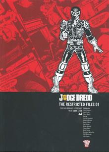 JUDGE DREDD RESTRICTED FILES TP VOL 01 (C: 0-1-2)