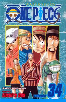 ONE PIECE GN VOL 34