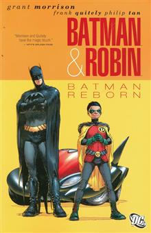 BATMAN AND ROBIN BATMAN REBORN TP
