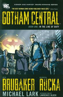 GOTHAM CENTRAL VOL 1 IN THE LINE OF DUTY TP