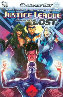 JUSTICE LEAGUE GENERATION LOST HC VOL 01