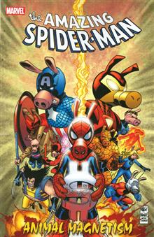 SPIDER-MAN ANIMAL MAGNETISM TP