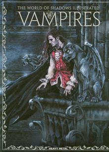 VAMPIRES WORLD OF SHADOWS ILLUS HC