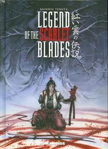LEGEND O/T SCARLET BLADES HC 