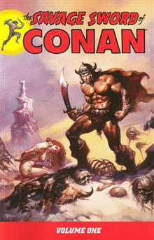 SAVAGE SWORD OF CONAN VOL 1 TP (C: 0-1-4)
