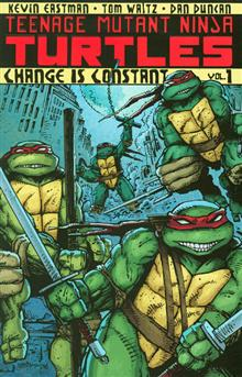 TEENAGE MUTANT NINJA TURTLES ONGOING TP VOL 01