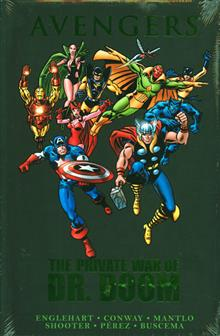 AVENGERS PRIVATE WAR OF DR DOOM PREM HC