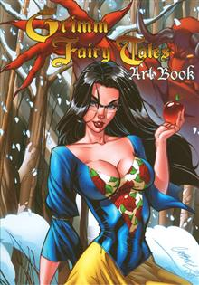 GRIMM FAIRY TALES COVER ART HC (MR)