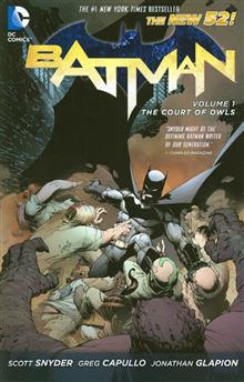 BATMAN TP VOL 01 THE COURT OF OWLS (N52)