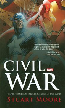 CIVIL WAR PROSE NOVEL TP