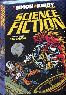 SIMON & KIRBY HC LIBRARY SCIENCE FICTION