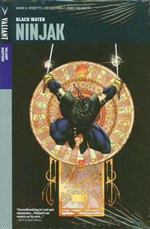 VALIANT MASTERS NINJAK HC VOL 01 BLACK WATER
