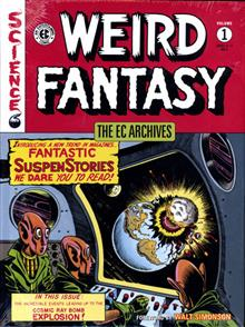 EC ARCHIVES WEIRD FANTASY HC VOL 01